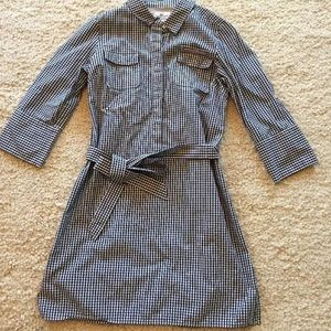 Vineyard Vines performance Dress Blue check 4